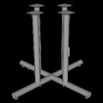 4 Column Tubular X