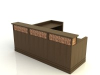 Cambridge- Desk with Return