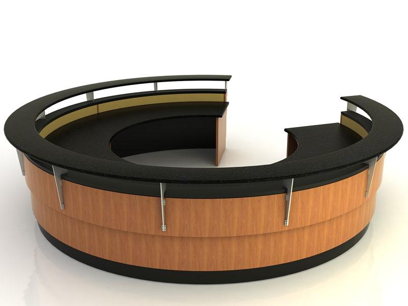 Frisco- Round Desk