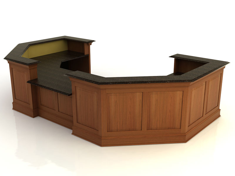 Kendall Lane II- Desk with Return