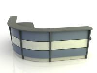 Stratus- Desk with Return