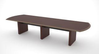 Arched End Conference Table 48'w x 84″l- 240″l