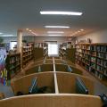 study carrels, library furniture