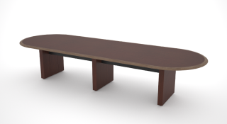 Racetrack Conference Table 48'w x 84″l- 240″l