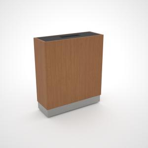 rectangular plinth