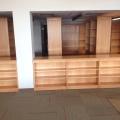 library, bookcases