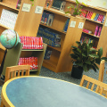 library furniture, library tables