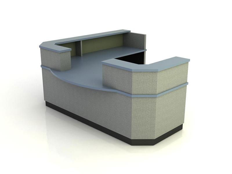 Aurora- Desk with Return