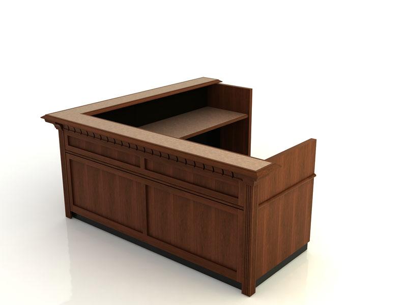 Jamestown I- Desk with Return