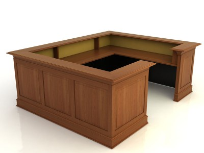 Kendall Lane I- Desk with Return Bridge and Credenza