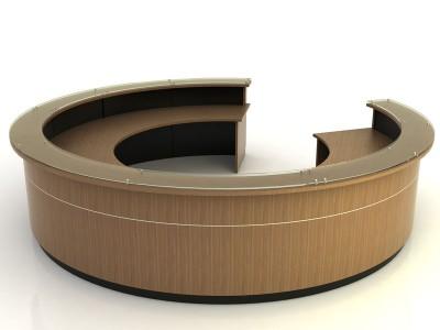Marietta- Round Desk