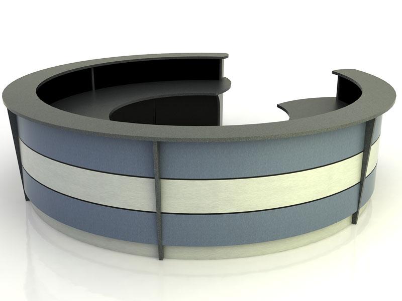 Stratus- Round Desk