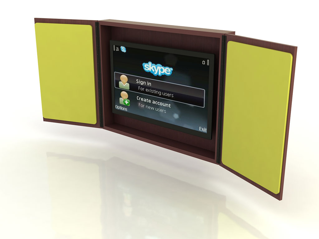 Wall Hung Entertainment Cabinet