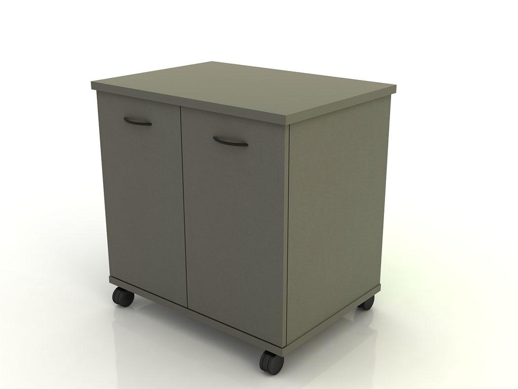 Two Door Mobile Storage Cart