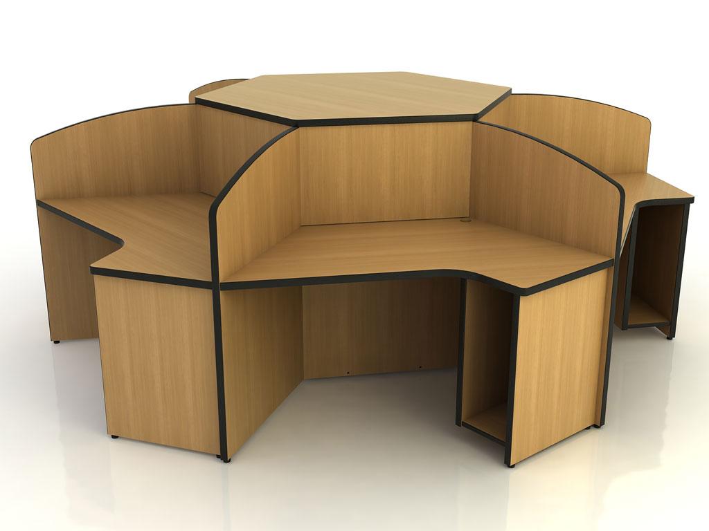 Hexagon Computer Storage