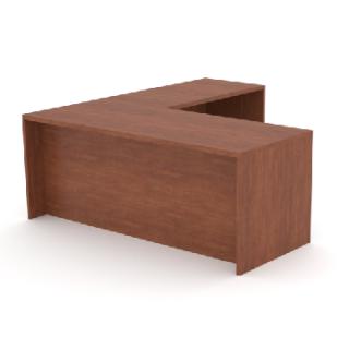 Rectangular Desk with right hand return